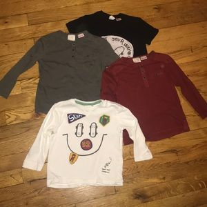 BUNDLE ZARA TODDLERS SHIRT